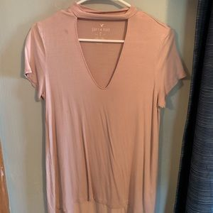 Soft and sexy American eagle pink top